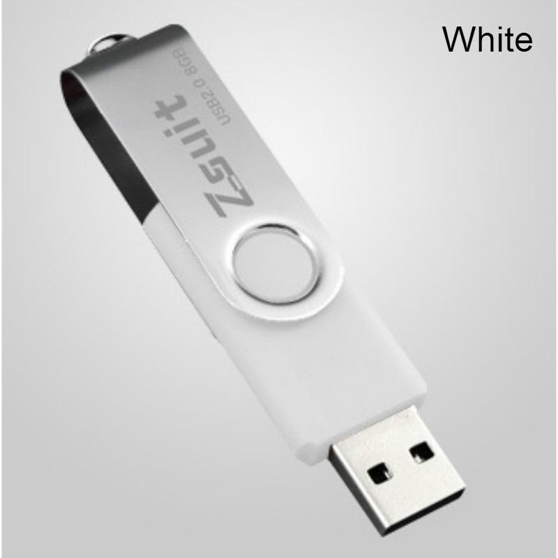 10PCS 1GB 16GB Mini Metal USB2.0 Drive Memory Flash Pendrive Stick Color Gray