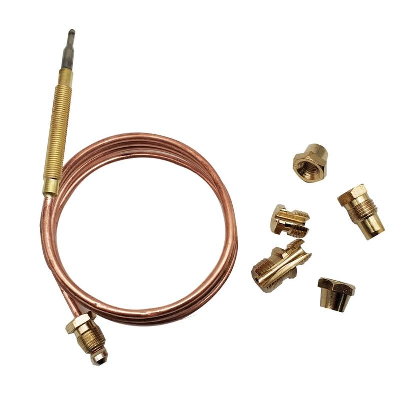 Горячая 900 мм газовая плита универсальный набор термопар M6X0.75 с Spilt гайки (пять) Замена термопары