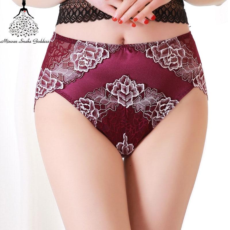 Plus Size Women   Panty   3XL 4XL 5XL 6XL Sexy Lace Underwear High Rise Pants Sexy   Panties   For Women Cotton Briefs   Panties   Intimates
