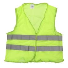 Высокая видимость куртки унисекс светоотражающий жилет спецодежды обеспечивает дневной и ночной режимы для бега и велопрогулок Предупреждение Детский защитный жилет защитный
