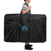 New 1680D Nylon Portable Bicycle Carry Bag for 26 29 Inch Cycling Bike Transport Case Travel Bycicle Accessories Outdoor Sport