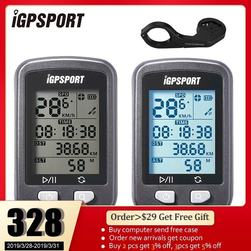 Compteur de Vitesse de Chronomètre d'Ordinateur de GPS sans Fil IGPSPORT IPX6 Etanche
