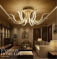 Современные высококачественные алюминиевые светодиодные люстры высокомощная светодиодная люстра светодиодные люминесцентные лампы холо