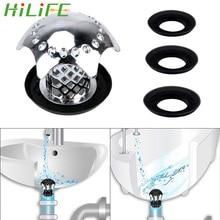 HILIFE защищает волосы от засорения, фильтр для мойки душа, Сливная крышка для ванны, слив для душа, ловушка для волос