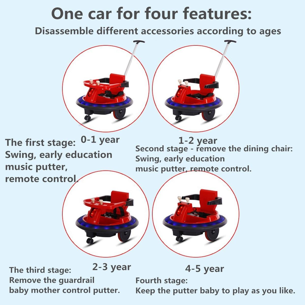 Enfants monter sur voiture jouets pour enfants jouet voiture monter sur voitures en plein air enfants voiture électrique télécommande véhicules électriques garçons filles - 3