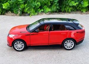 Image 5 - 1:32 Schaal Licensed Collection Car Model Voor Range Rover Velar Diecast Legering Metalen Luxe Suv Off Road Sound & licht Speelgoed Voertuig