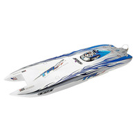 TFL 1133 RC Boat 40mm Zonda 2.4G Rc Boat W/ Double Motor Without Battery Servo Transmitter Charger 120A ESC Outside Toys For Kid