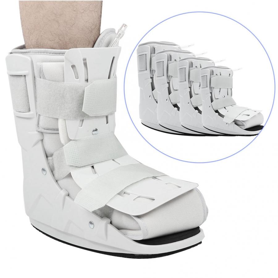Foam Pneumatic Walking Boot Ankle Strap Support Foot Orthosis Plantar Splint Brace Support l