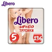 Трусики- подгузники Libero Up&Go 5, 10-14 кг, 136 шт