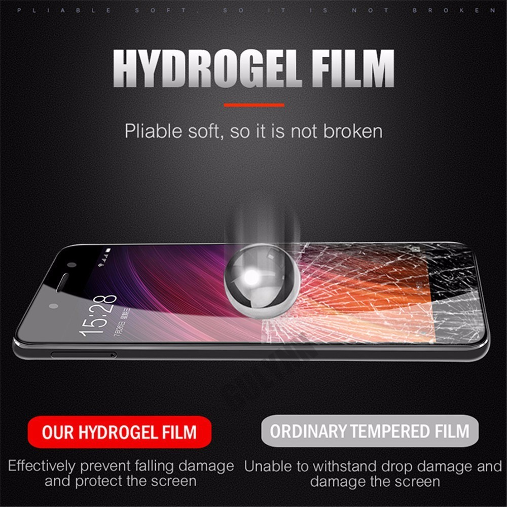 9D Curved Soft Full Cover Hydrogel Film For Xiaomi Redmi 7 7A K20 4X 6A 5 6 Plus Pro Screen Protector For Note 5 6 Pro Soft Film in Phone Screen Protectors from Cellphones Telecommunications