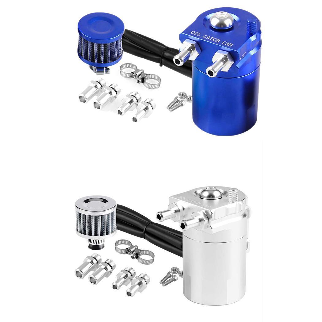 Réservoir d'huile de voiture automatique en aluminium général avec l'installation facile 300 ML filtre à huile peut réservoir 0.8 kg - 6