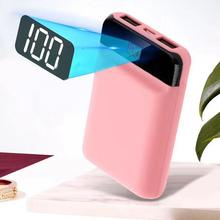 hot deal buy 10000mah portable mini battery charger large capacity power bank 18650 fast charge external battery bank powerbank poverbank