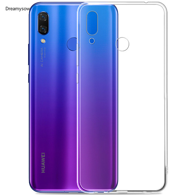 857816abfbbede Transparent Clear Soft TPU Case For Huawei Mate20 lite/Pro P20 Lit/Pro P  Smart Case For Honor Play 8X max 8C 10 9 7X Nova 3i