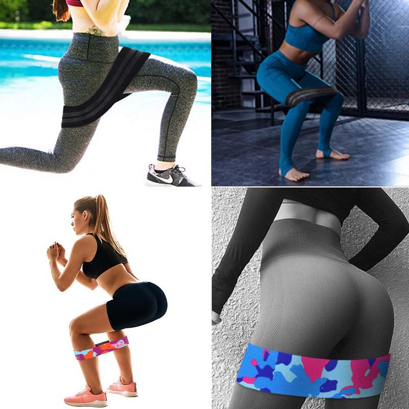 Non Slip Workout Bands: Exercise Resistance Bands Anti Slip Latex Thread Yoga