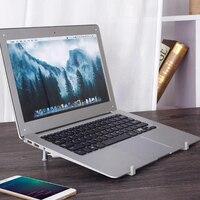 Suporte de Laptop Ajustável portátil Multifunction Folding Laptop Stand Suporte suporte