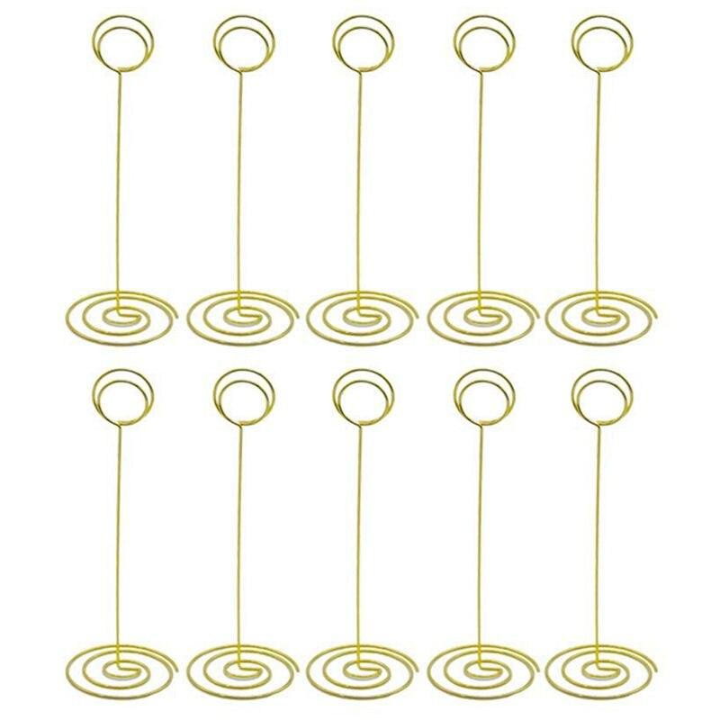 Tisch Name Anzahl Halter Neue-draht Form Ort Karte Halter Steht Papier Menü Bild Memo Note Foto Clip Halter Lebensmittel Zeichen Durchblutung GläTten Und Schmerzen Stoppen