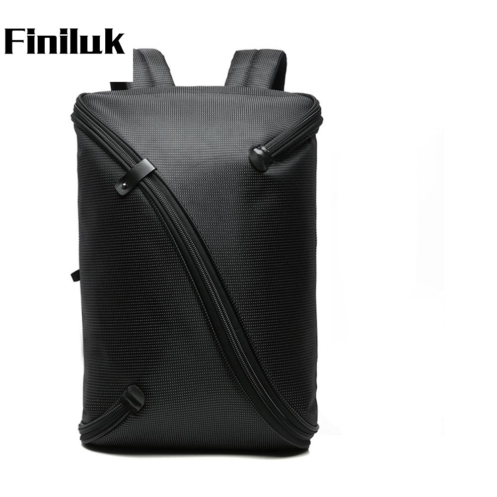 Finiluk 16 inches Big Capacity Business Backpack Against Theft Password Lock Black Laptop Case Male Shoulder Bags DBIX019PM49Finiluk 16 inches Big Capacity Business Backpack Against Theft Password Lock Black Laptop Case Male Shoulder Bags DBIX019PM49