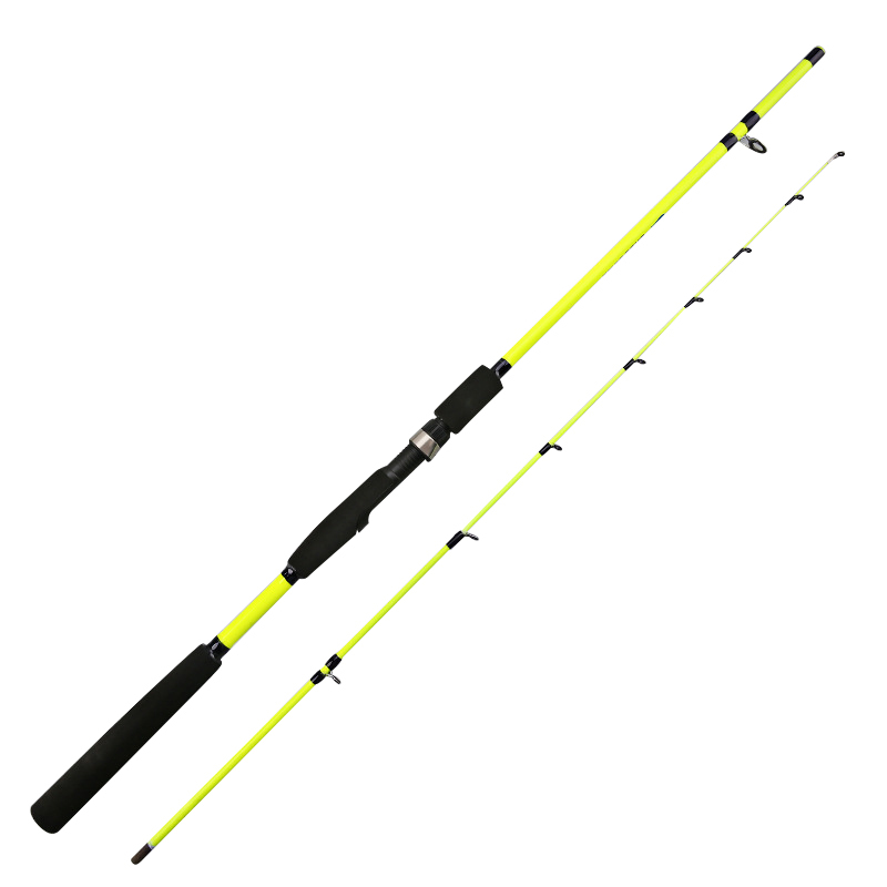 New 1.6M 1.8M 2.1M Yellow Spinning Rod Fishing Rod Olta Fishing Pole Pesca Carp Bait Lure Fishing Rod Fishing Feeder Tackle Rod