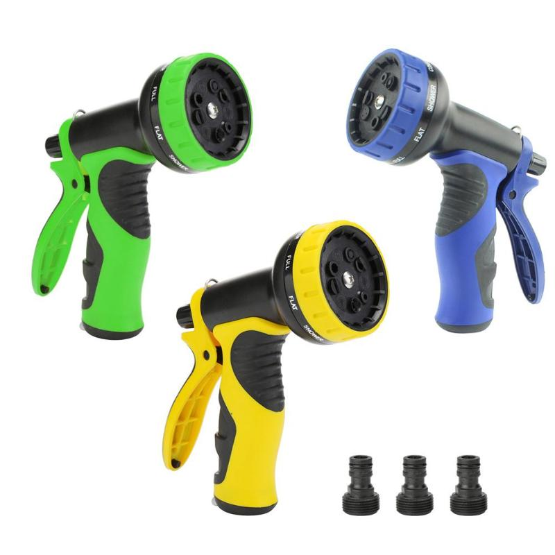 Garden Watering Gun Sprayers For Watering Lawn Hose Spray Water Nozzle Gun Car Washing Cleaning Lawn Watering Kits