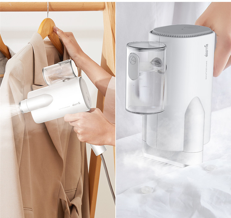 2019 New Xiaomi Deerma 220v Handheld Garment Steamer Household Portable Steam Iron Clothes Brushes For Home Appliances