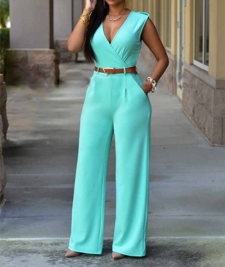 Jumpsuit Outfit Romper Womens Streetwear Bodycon Party Sleeveless Newly Lady