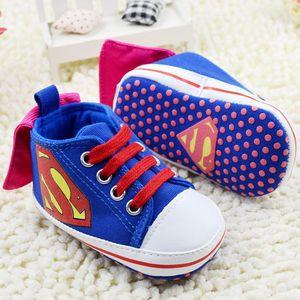 Детская обувь с Суперменом, модные кроссовки для отдыха