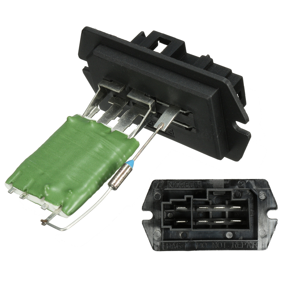 8 pinos Heater Blower Motor Resistor Para Dodge/Chrysler/Voyager/Grand 68029175AA 5369610 RU362 JA1473