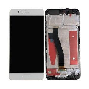 """Image 2 - 5,1 """"Оригинал ПРОВЕРЕНО M & Sen для Huawei P10 VTR AL00 VTR L09 VTR L29 VTR TL00 рамка ЖК дисплей экран + сенсорная панель, дигитайзер, P10"""