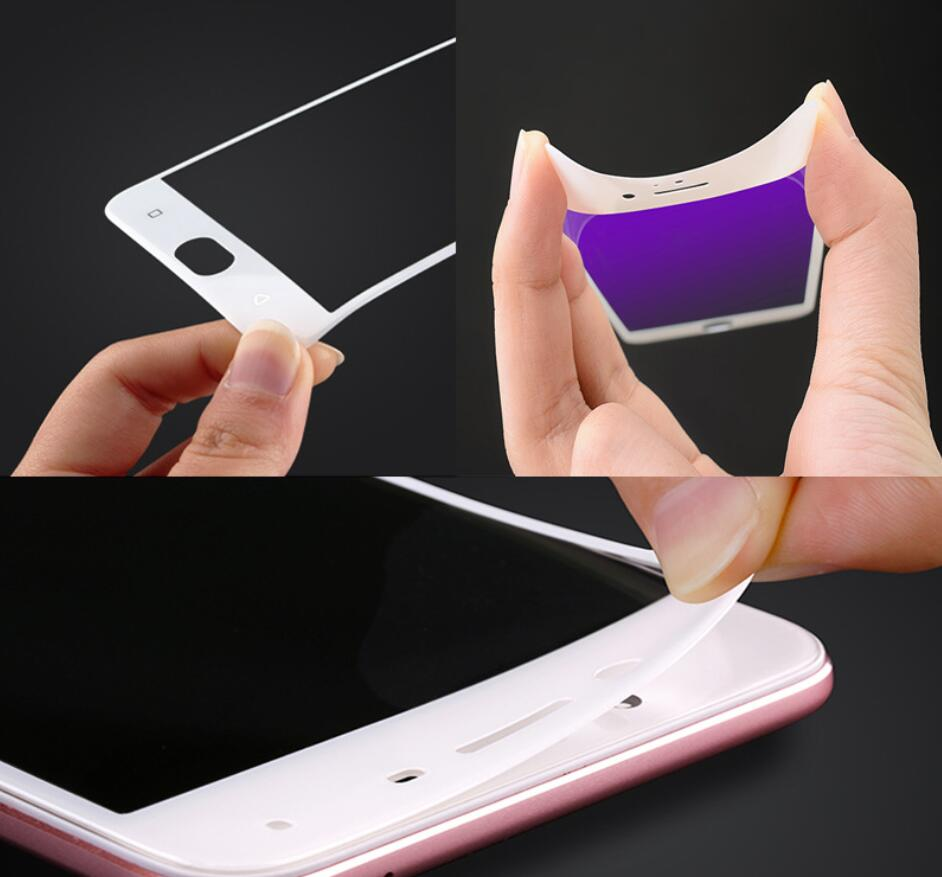 3D soft edge full covered glass screen protector Film for xiaomi A2 lite camdems 160pcs lot