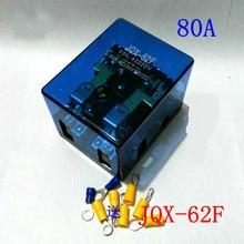 Jqx   62f 2z Sarà Corrente Elettrica Q62f Relè Ad alta potenza Sia di Potenza 80a 24v 12v 220 V