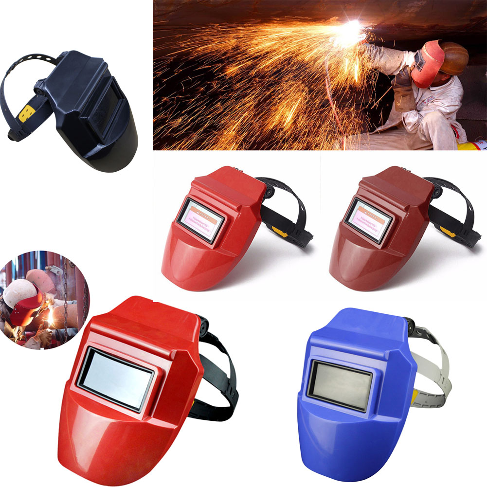 New Professional Welding Helmet Mask Electrical Grinding Welders Mask Welding Helmets For Electronic Welding Worker Face Masks
