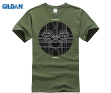 GILDAN Deadmau5 - Red Mens Premium Soft T-Shirt BRAND NEW Size X-Large  The New Fashion T Shirt Basic Models