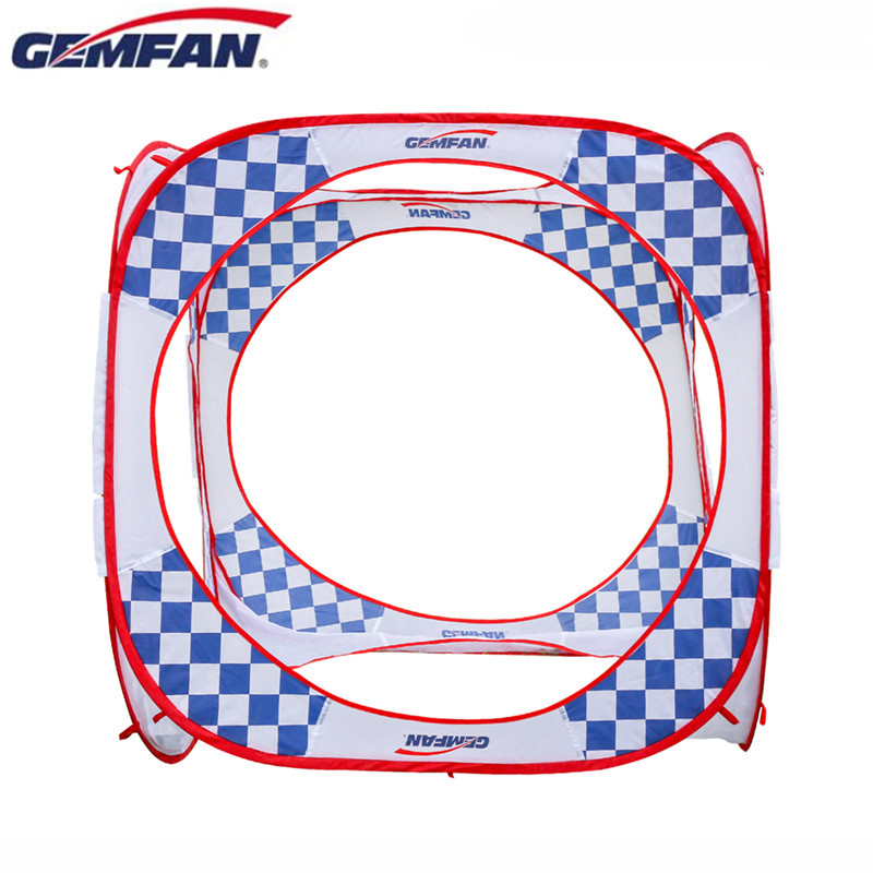144x147CM Gemfan Up FPV Race Cube Gate B  Double Logo Gate & Ground Nails & Carrying Bag for RC Drone Spare Part Outdoor Indoor-in Parts & Accessories from Toys & Hobbies    1