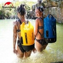 Naturehike 20L 30L 40L 420D TPU Wasserdichte Fluss Trekking Taschen Trockenen Pack Tasche Trocken Nass Trennung Wasserdichte Drift Lagerung Tasche