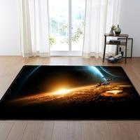 8 Kinds Mordern 3D Starry Sky Printed Large Carpet For Home Living Room Rugs Bedroom Restaurant Floor Mat