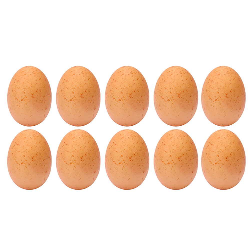 Artificial Foam Egg 10Pcs Children Kitchen Game Food Toy Party Favor Decoration DIY Painting Easter Egg
