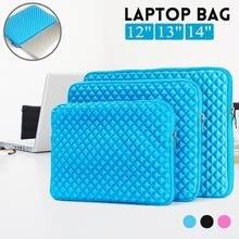 bb25c9832e 12 13 14 pouces pochette pour ordinateur portable Étanche Antichoc Rose  Rouge/Noir/Bleu Notebook Case sac pour macbook Pro Xiaom.