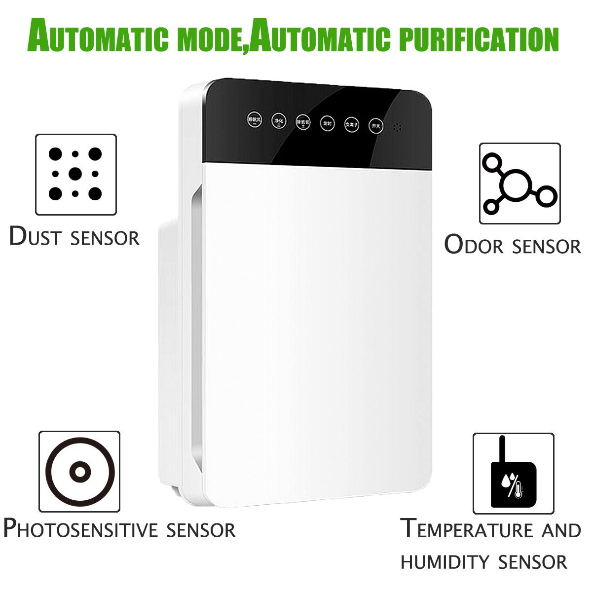 HEPA Filter Replacement For AUGIENB HEPA Filter Reduce Mold Odor Smoke  NEW5