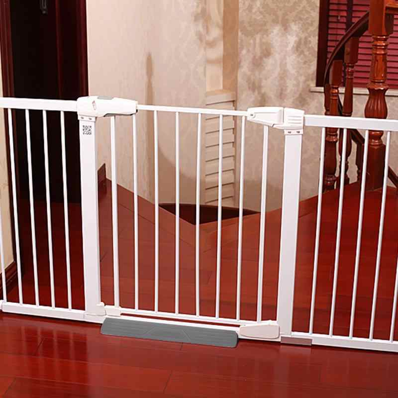 Infant Child Safety Gate Fixed plate Baby Fence Stairs Barrier Fence Pet Dog Fence Pole Isolation Fixed plate Safety Protection