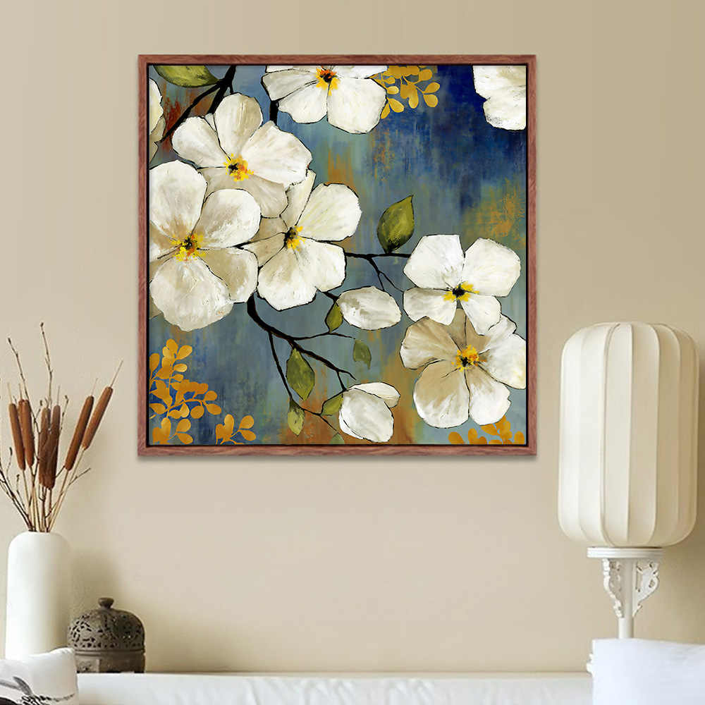 Chinese Living Room Decorative Painting Flower Art Wall Print Home Decor Paintings