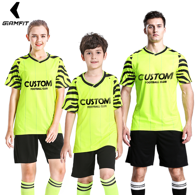 8b85f8d2d France Soccer Jersey Survetement Football 2018 2019 Uniforms Football  jerseys Child Parent Sports Outfit Suits Soccer Tracksuit