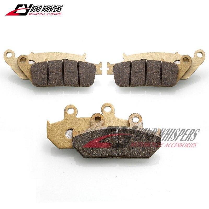 Cyleto Rear Brake Pads for Suzuki AN650 AN 650 Burgman 650 2003 2004 2005 2006 2007 2008 2009 2010 2011 2012 2013 2014 2015 2016