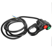 New Arrival Motorcycle Electric Bike Scooter Horn Turn Signal Light ON/OFF Switch For Motorbike Handlebar Accessories Parts