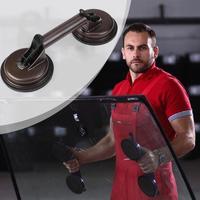 Doppel Tassen Glas Fliesen Saug-Glatt Glas Fliesen Saug Platte Hand Starke Lager Saugnapf Entferner Auto Lkw Reparatur Werkzeug