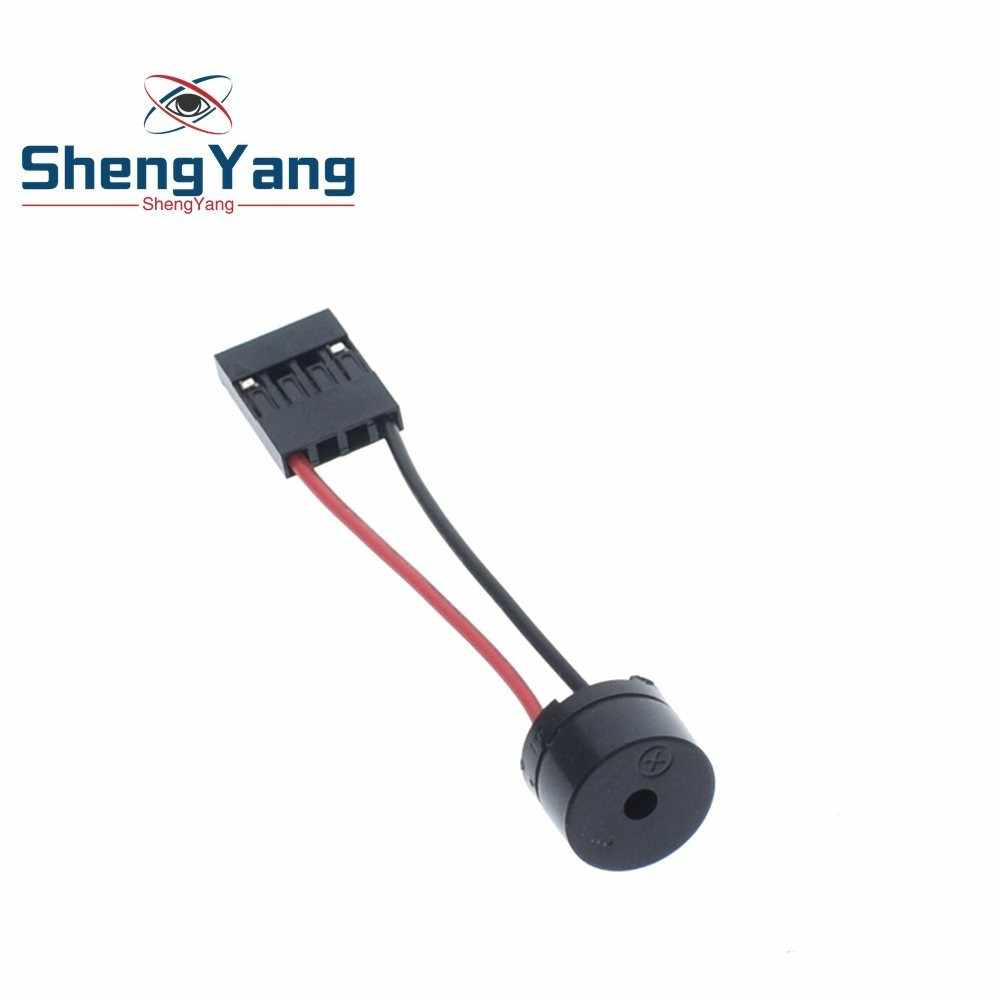ShengYang 1Pcs Mini Plug Speaker For PC Interanal BIOS Computer Motherboard Mini Onboard Case Buzzer Board Beep Alarm NEW