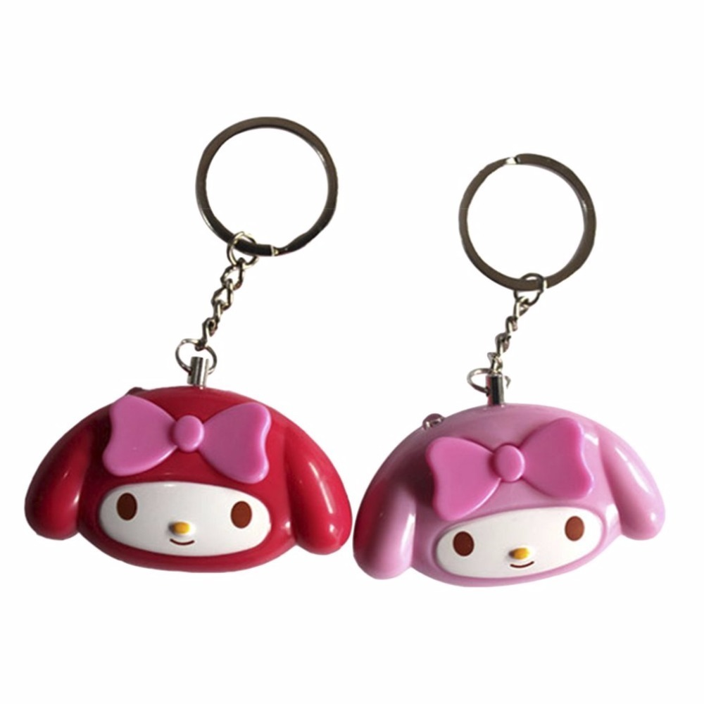 Cute Mini Self Defense Alarm 120dB Super Loud Personal Security Alarm Anti-Attack Emergency Alarm Keyring For Women Kids Elderly