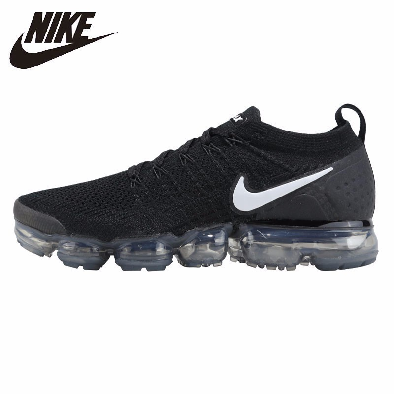 NIKE VAPORMAX FLYKNIT Mens Sport Cushioned Shoes Breathable Running Sneakers  942842-001 2e32111fd