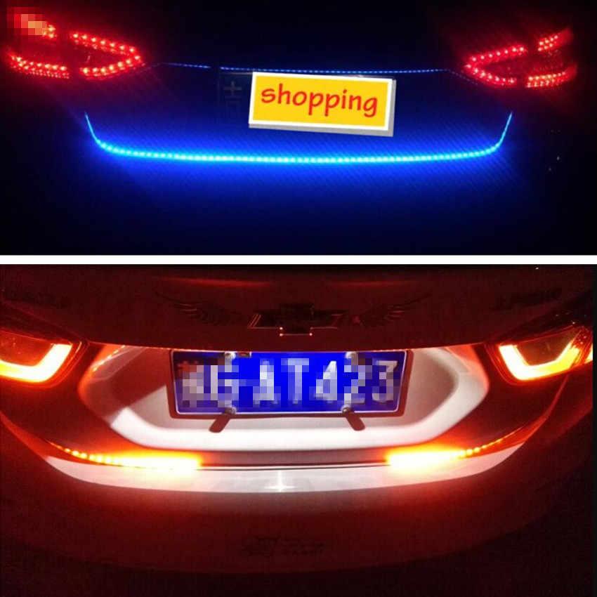 車 LED テールゲートトランクカラフルなフラッシュランプスズキエスクード 2016 Sx4 スズキスイフトジムニー現代 Solaris Verna ツーソン Ix35 i30