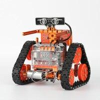 WeeeMake DIY 6 в 1 WeeeBot Эволюция Smart RC робот автомобильный комплект программируемый приложение управление автомобиля учебный комплект