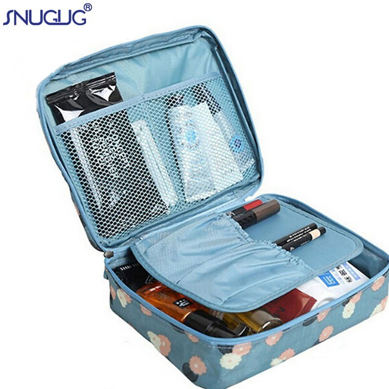 SNUGUG Ladies Bag Case Makeup-Bag Storage Travel-Kit Wash-Toiletry Multifunction Girl